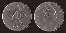 50 LIRE 1956 VULCANO - ITALIA