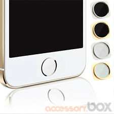 HOME BUTTON KNOPF IN IPHONE 5S LOOK OPTIK STYLE FÜR IPHONE 5 WEISS/SILBER