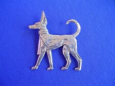 Anubis Pharaoh Hound Pin #14D Pewter Egyptian Dog Jewelry by Cindy A. Conter