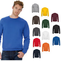 B&C Collection ID.202 50/50 Sweatshirt WU123 -Men Fleece Poly Cotton Jumper Top