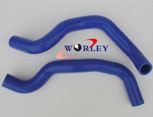 FOR Honda CL7 Accord Euro R Turbo 180sx Silicone Radiator Hose Kit Blue