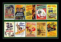 ABBOTT & COSTELLO -  FILM POSTERS POSTCARD SET # 2