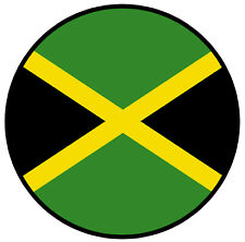 JAMAICA FLAG - NOVELTY CAR TAX DISC HOLDER - BRAND NEW / SELF CLING / GIFTS