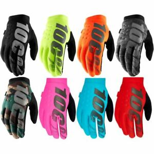 100% Brisker Cold Weather Gloves Winter Mountain Bike MX Motocross Enduro New