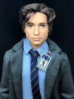 The X-Files Agent Fox Mulder Barbie Ken Doll for OOAK Repaint David Duchovny