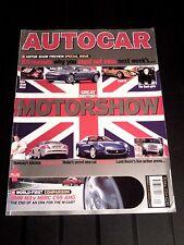 AUTOCAR MAGAZINE 18-MAY-04 - BMW M3 E46, Mercedes C55 AMG W203, Megane 225