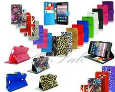 For Alcatel OneTouch POP Star OT-5022 New Leather Flip Wallet Phone Case Cover
