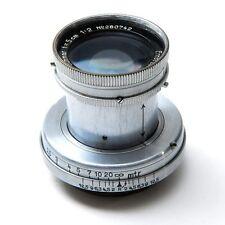Leica Leitz 50mm f2 Summar Lens Bundle With Leitz NY Hood / UV Filter / Adapter
