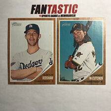 2011 Topps Heritage base card YOU PICK #1-350 inc RC & combined shipping avail.