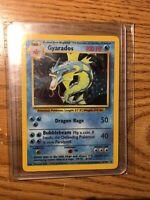 MINT CONDITION Gyrados 6/102 Base Set Unlimited Holo Rare Pokemon Card WOTC 1999