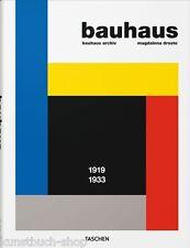 Fachbuch Bauhaus 1919-1933, Gropius Itten Breuer Kandinsky Klee Feininger uva.
