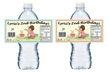 20 BELLE & BOO and PERSONALIZED BIRTHDAY PARTY FAVORS WATER BOTTLE LABELS CUSTOM