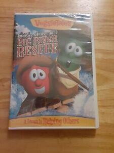 DVD VeggieTales Big River Rescue Tomato Sawyer & Huckleberry Larry BRAND NEW