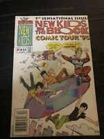 New Kids on the Block Comic Tour #1 VG 1991. Key Collectible Harvey Rockomics 🔥