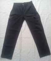 MC LEM - Pantalon Rayure Gris et Noir pour Femme taille 39cm