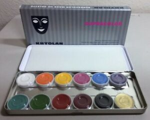 Kryolan Supracolor 12 Colors (Free Shipping)