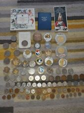 More details for job lot of around 70 coins - some uncirculated £5 £2 coins