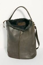 Free People NWT Delle Cose Two Toned Italian Leather Hobo Tote Bag Backpack $798