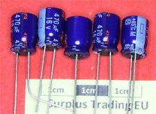 Panasonic Radiali Elettrolitici Condensatore 470µF 16V 85 ° C (Pacco da 5)