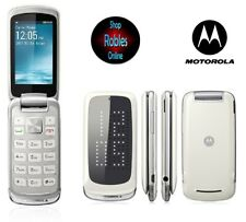 Motorola Gleam Plus White (Ohne Simlock) Radio FM Bluetooth 2,0MP Sehr Gut OVP