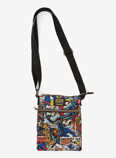 Loungefly Marvel Avengers Crossbody Bag Comic Book Print