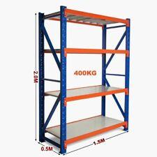 1.5m Warehouse Garage Metal Steel Storage Shelving Racking Shelves Shelf