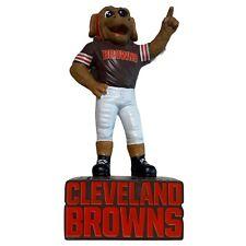 "Cleveland Browns 12"" Mascot Statue Logo NFL Football Outdoor Garden Decoration"