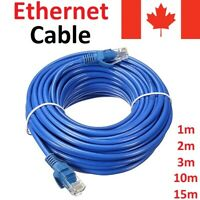CAT 5 E Ethernet LAN Internet Network Cable for Computer Router PC Mac Laptop