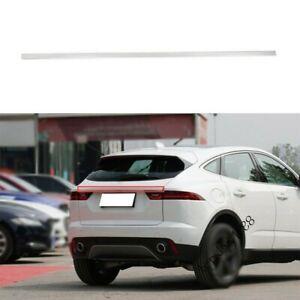 Fit Jaguar E-PACE 2018-2020 Rear Door Trunk Lid Tailgate Strip Trim Silver Steel