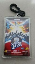Pokemon 2000 Movie Promo Keychain NEW Key Chain Lenticular