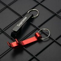 Brand New Supreme Bottle Opener Keychain ( Black Color).
