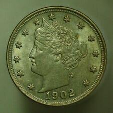 1902 Liberty Nickel 5 Cents United States U042