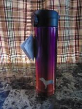 Victorias Secret PINK Thermos Purple Water Bottle Warm Gradient Metal NWT