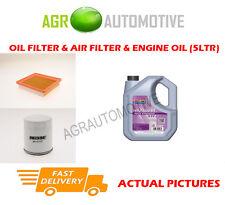 PETROL OIL AIR FILTER KIT + FS 5W30 OIL FOR FORD FIESTA 2.0 150 BHP 2004-09