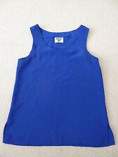 Christmas Jacques Vert Royal Blue Vest Top - size 10