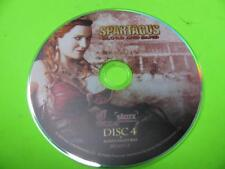 DVD SPARTACUS BLOOD AND SAND (DISC FOUR / 4 ONLY)