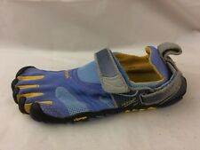 Vibram Fivefingers Womens 6.5 - 7 M EUR 37 Leather Yellow Running Shoes Barefoot