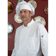 Jrc Ritz Foodservice Rzcoatwhsm Long Sleeve Chef Coat - Size Small