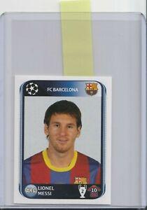 PANINI Champions League 2010/11 Sticker - Lionel Messi - FC Barcelona #224 003