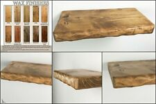 Rustic Floating Shelves Solid Chunky Wooden Shelf Handmade Various Sizes Colours