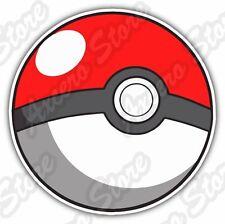 "Poke Ball Pokémon Pokemon GO PokeStops Car Bumper Vinyl Sticker Decal 4.6""X4.6"""