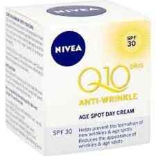 2 x Nivea Q10 Anti-Arrugas Edad Spot Day Cream-SPF30 - 50 ml cada uno