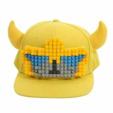 Transformers BUMBLEBEE Bricky Block Snapback Hat Cap Customizable w/ 114 Blocks!