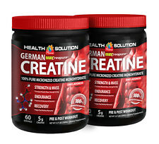 Weight Gainer - German Creapure® Creatine 3000mg - Energy Drink Powder 2B