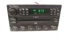 Ford OEM single CD player AM/FM RADIO Escape Ranger F150 F250 F250 Econo 99-08