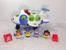 Fisher Price LITTLE PEOPLE Lil' Movers Airplane Plane  Lights Sounds