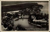 Nedlitz bei Potsdam AK ~1930/35 Krampnitzsee Lehnitz Luftbild Fliegeraufnahme