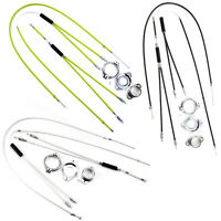 Full Kit BMX Gyro Brake Cables Front Rear (Upper + Lower) With Spinner Rotor