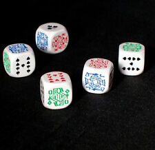 Poker Dice / Liar Dice - Deluxe in Leather Case