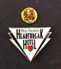 UK ELVIS PRESLEY PIN HEARTBREAK HOTEL #4